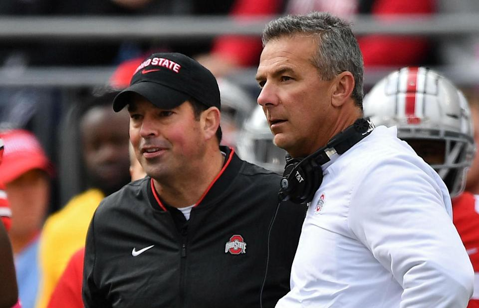 Ryan Day, the offensive coordinator at Ohio State who filled in for Urban Meyer during his administrative leave, doesn't have many ties to the region. But he might be a good choice for Colorado. (Getty)