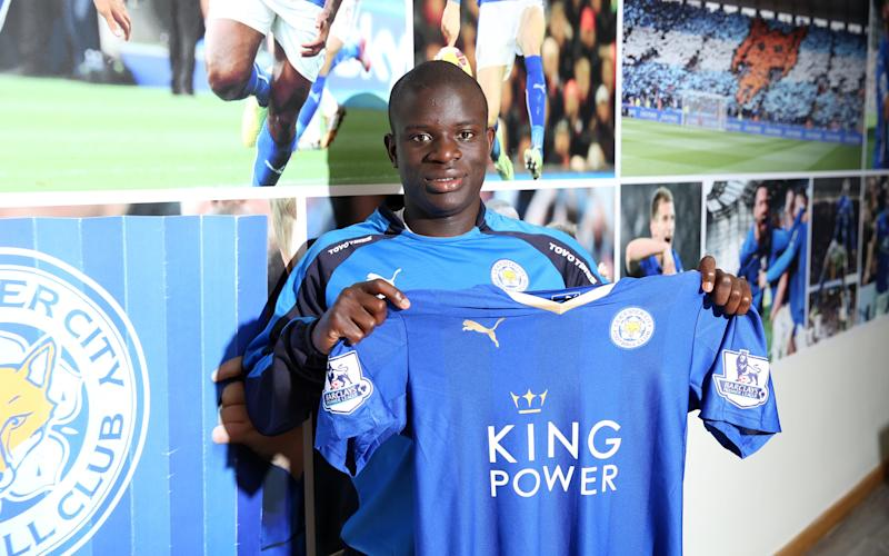 Kante - Credit: getty images