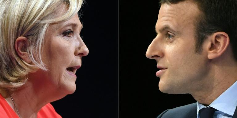 Emmanuel Macron held a widening lead of around 62 percent to 38 percent ahead of Marine Le Pen in the last polls published on Friday ahead of the French presidential vote
