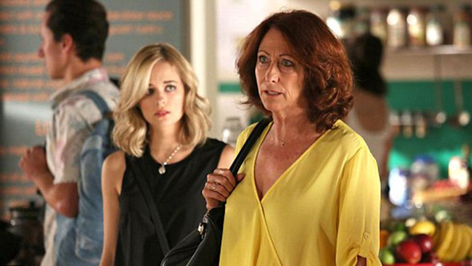 Lynne McGregor has played Home and Away's Irene Roberts for almost three decades.  Photo: Seven