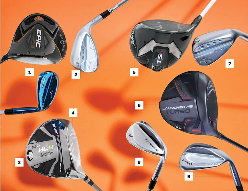 Four new drivers and four new wedges to score lower this fall