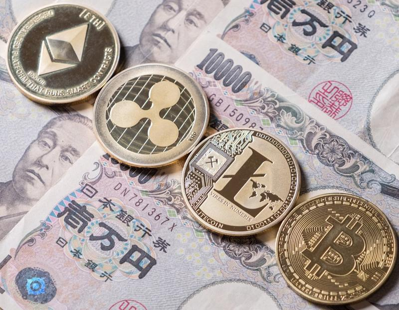 Japanese online brokerage Monex could soon offer bitcoin to retail investors to catch up with competitors.   Source: Shutterstock