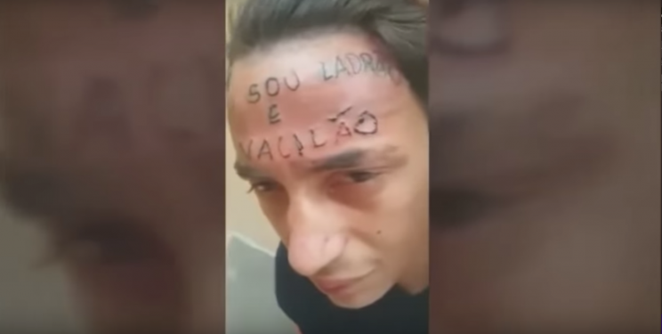 Brazilian Teen's Forehead Tattooed After He Was Accused of Stealing a Bike