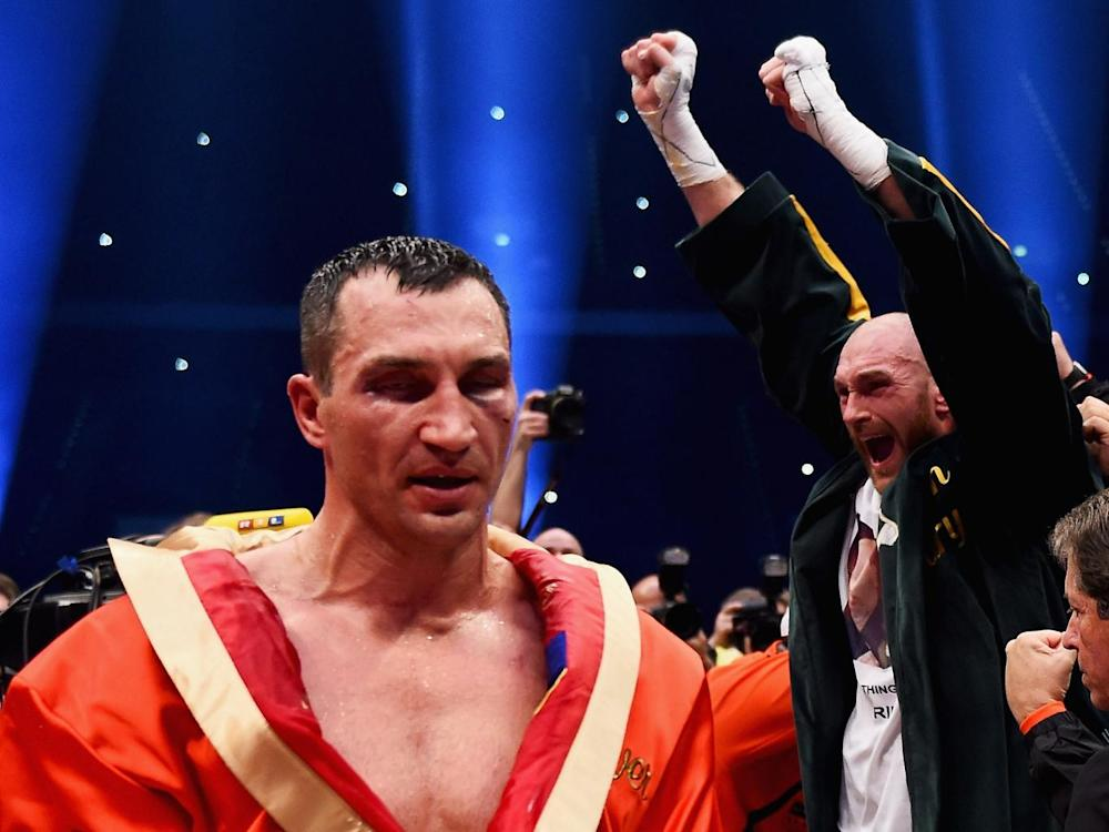 Fury ended Klitschko's decade at the top (Bongarts/Getty)