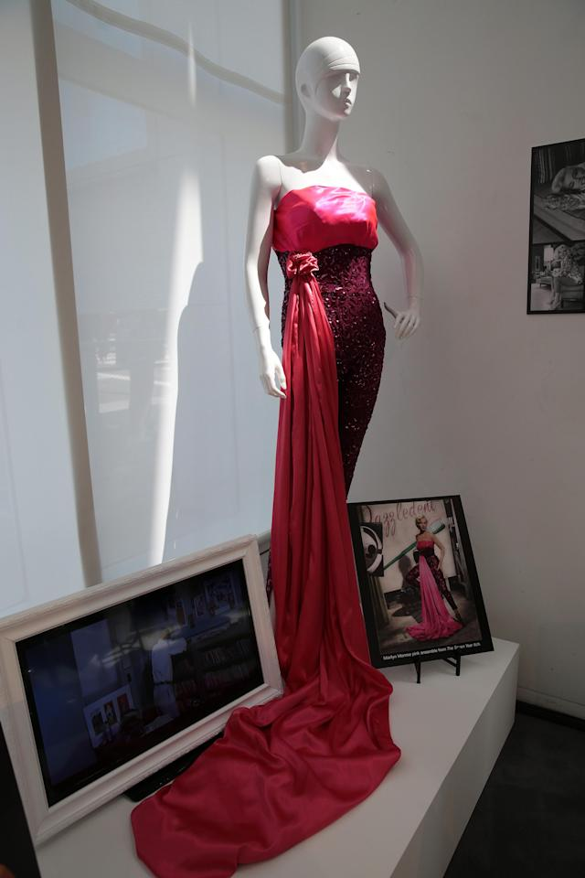 """Monroe wore this red ensemble in """"The Seven Year Itch."""" (Photo: Brian To for the Paley Center for Media)"""