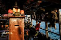 Before it became an attraction, the Dukling was the home of a Hong Kong fisherman