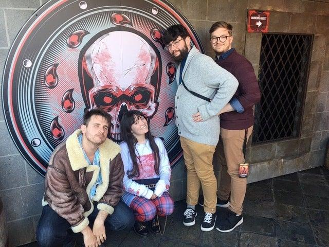 The cast of the D&D Is For Nerds podcast, one of many actual play podcasts to rise to prominence in recent yearsD&D Is For Nerds