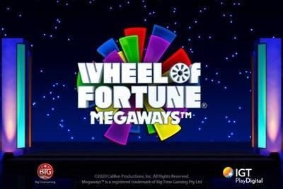 IGT PlayDigital Announces Highly Successful Rollout of  Wheel of Fortune® Megaways™ Slots Game