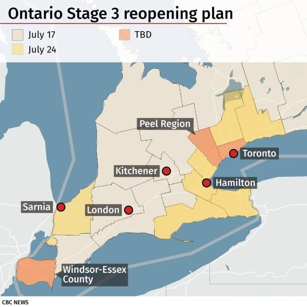 Ontario Reports 203 New Covid 19 Cases The Majority In People Under Age 39