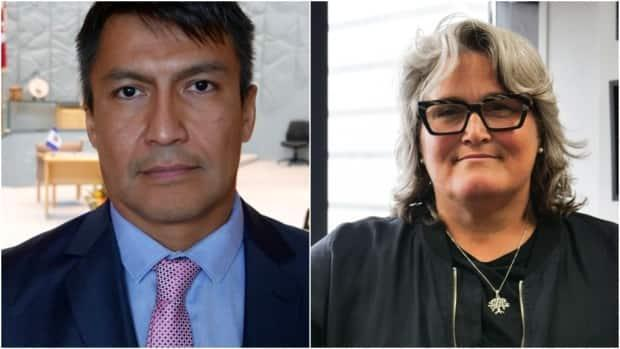Steve Norn and Nicole Latour were two of four complainants whose allegations led to an investigation of N.W.T. clerk of legislature by Ottawa-based Quintet Consulting. (CBC - image credit)