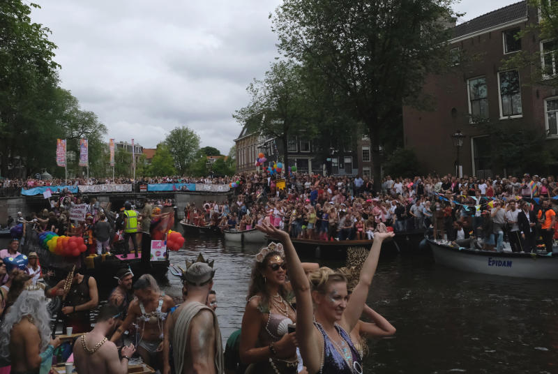 Netherlands Canal Parade