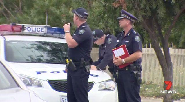 Neighbours called triple 0. Picture: 7 News
