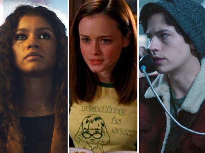 tv shows about high school euphoria gilmore girls riverdale