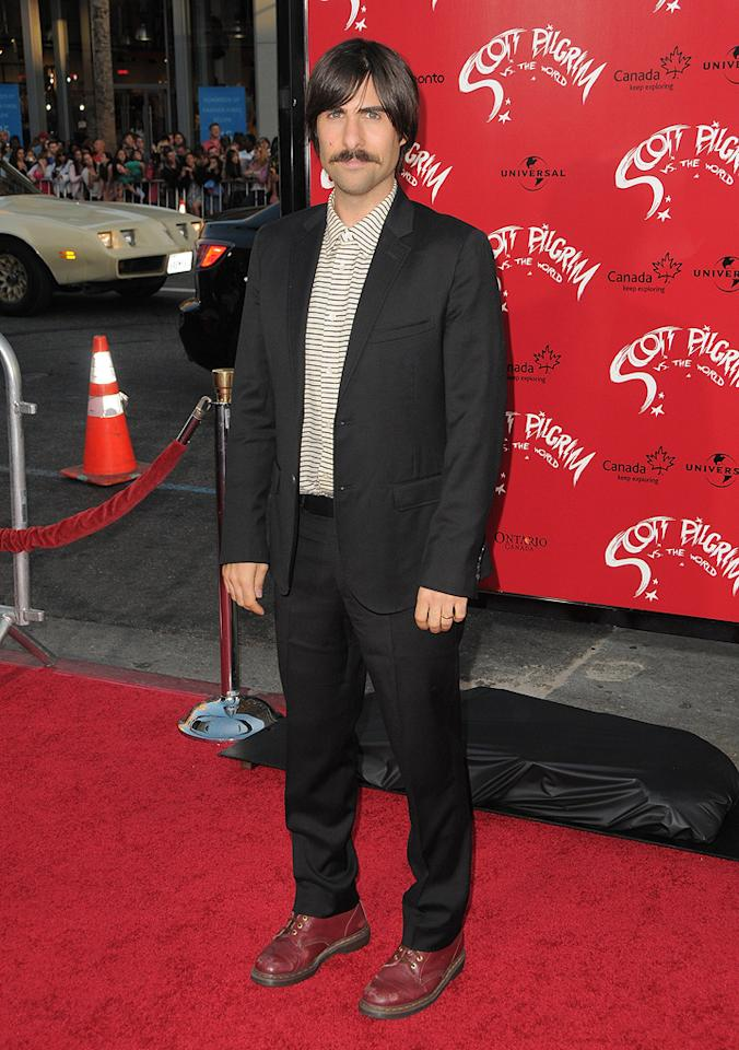 "<a href=""http://movies.yahoo.com/movie/contributor/1800024308"">Jason Schwartzman</a> at the Los Angeles premiere of <a href=""http://movies.yahoo.com/movie/1810070753/info"">Scott Pilgrim vs. the World</a> - 07/27/2010"