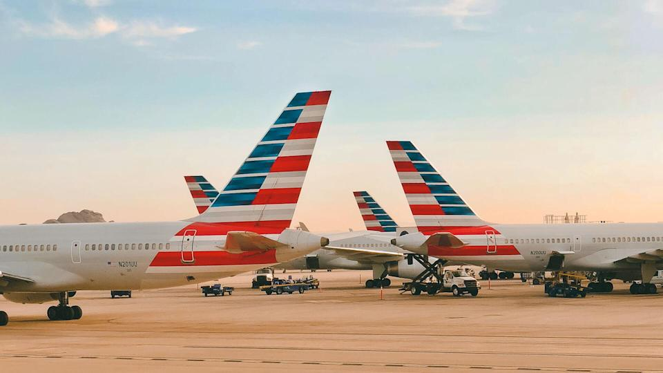 American Airlines airplanes