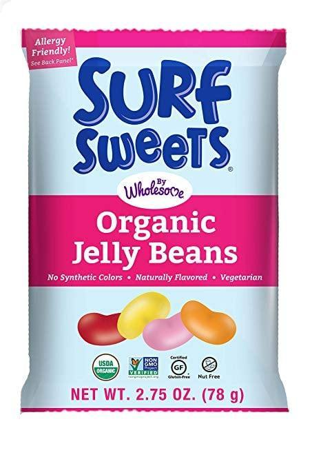 <p>Flavored with organic fruit juice, <span>Surf Sweets Organic Jelly Beans</span> ($32 for 12 bags) are bursting with the fruit flavors kids love. And, like all Surf Sweets candies, they are allergy-friendly, organic, and gluten-free.</p>
