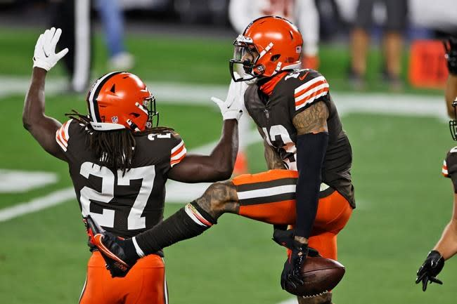 """Browns' star Beckham finds """"acceptance"""" on and off field"""