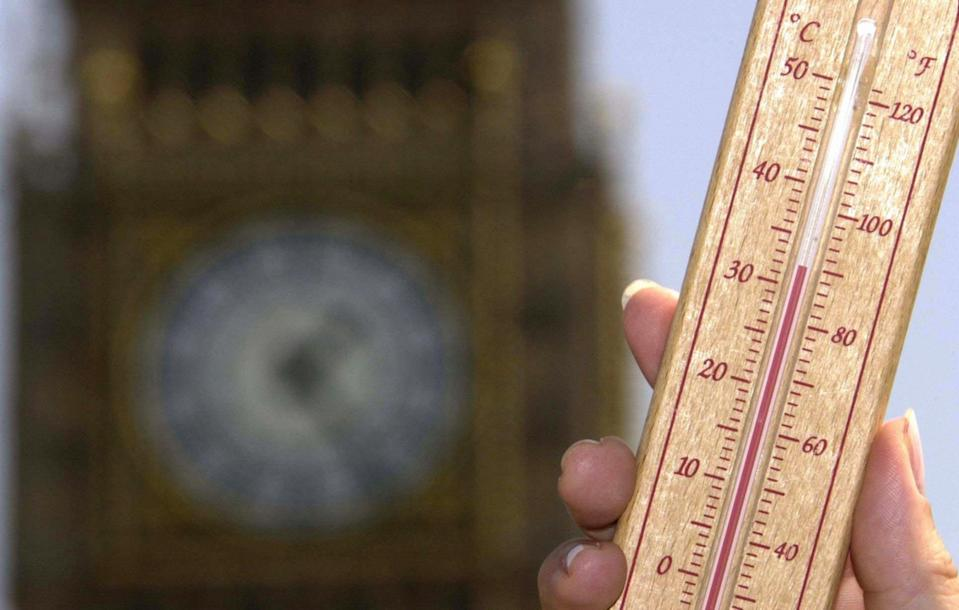 <p>Data shows that 37 per cent of heat deaths are due to global warming</p> (PA Archive)