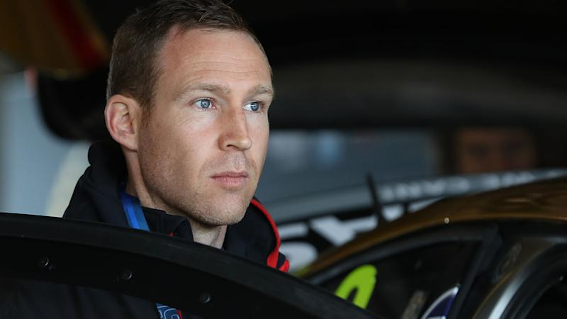David Reynolds, pictured here before the Bathurst 1000.