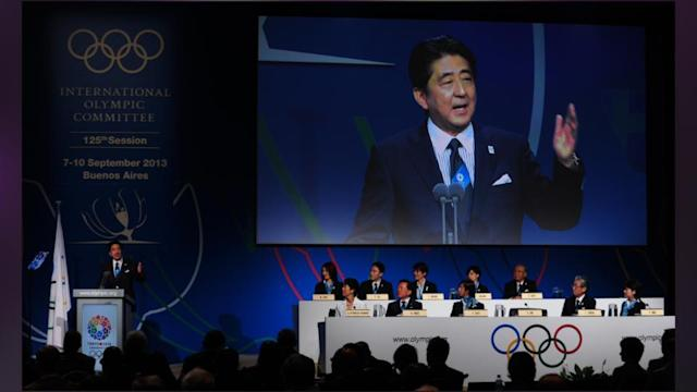 Abe helps secure 2020 Games for Tokyo