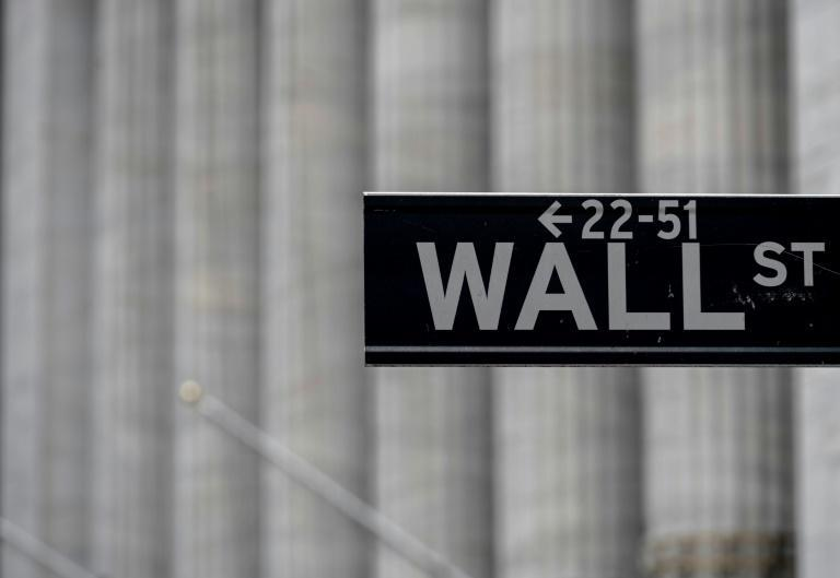 Wall Street was set to open higher after the election of Joe Biden; In this file photo a Wall Street sign is seen near the New York Stock Exchange (NYSE) on May 8, 2020 in New York