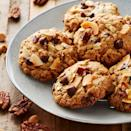 "<p>These cookies adhere to the philosophy ""more is more."" Stuffed with chocolate chips, peanut butter chips, oats, coconut, and pecans, it's definitely an idea we can get behind.</p><p><em><a href=""https://www.delish.com/cooking/recipe-ideas/a30222785/cowboy-cookies-recipe/"" rel=""nofollow noopener"" target=""_blank"" data-ylk=""slk:Get the recipe from Delish »"" class=""link rapid-noclick-resp"">Get the recipe from Delish »</a></em></p>"