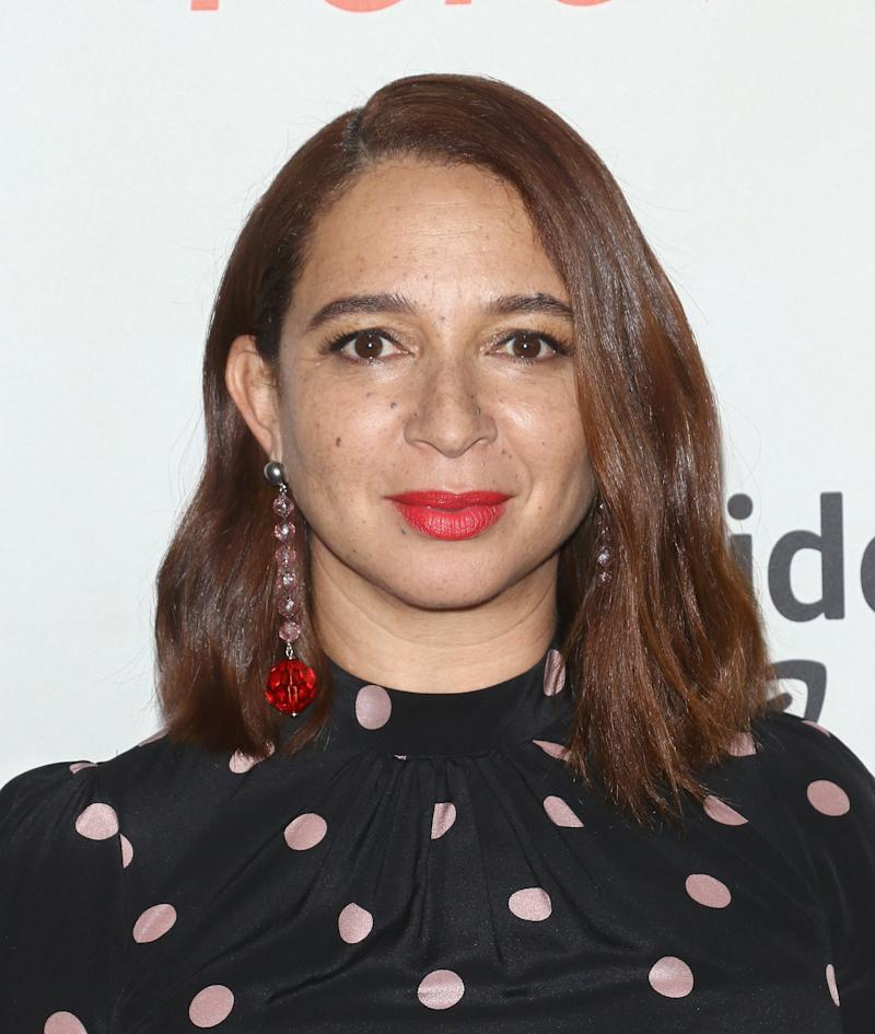 Maya Rudolph Says Some White Castmates From   Saturday Night Live Hair-Shamed Her