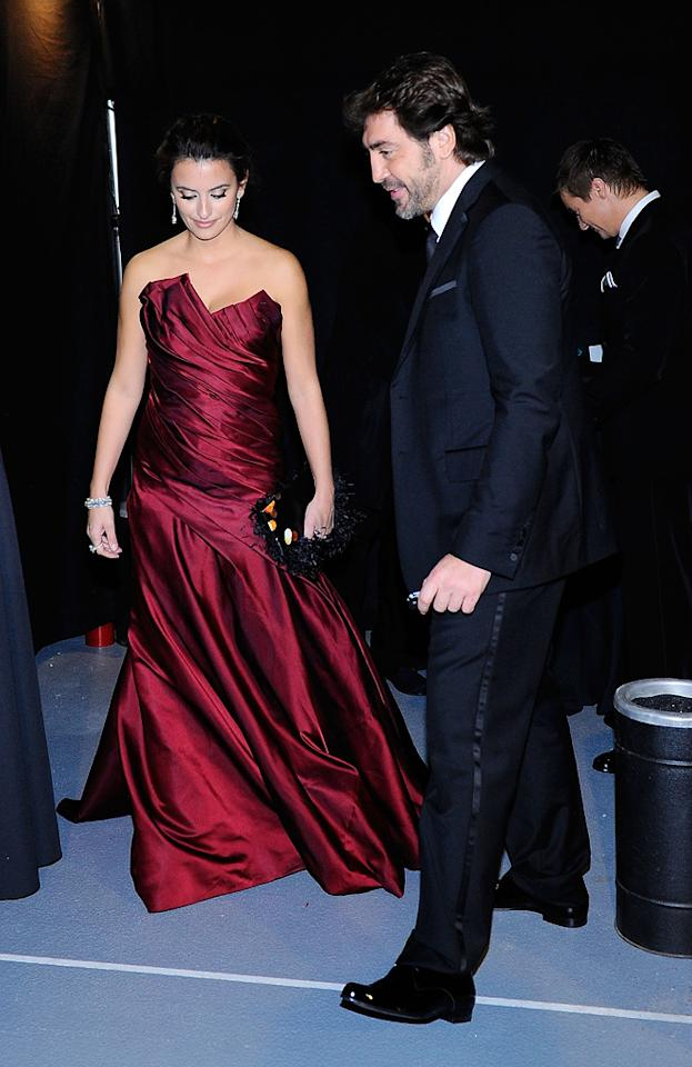 "<a href=""http://movies.yahoo.com/movie/contributor/1800019548"">Penelope Cruz</a> and <a href=""http://movies.yahoo.com/movie/contributor/1800023079"">Javier Bardem</a> attend the 82nd Annual Academy Awards on March 7, 2010 in Los Angeles, California."