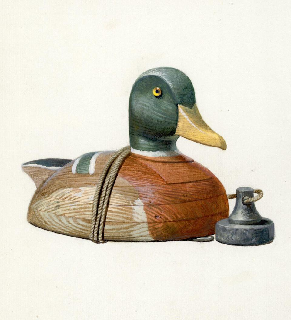 """<p>Even if you'd no sooner shoot a duck than give one a kiss, it's easy to see the beauty in a hand-carved duck decoy. Collectible since the 1950s, <a href=""""https://www.invaluable.com/blog/inside-the-archives-duck-decoy-prices/"""" rel=""""nofollow noopener"""" target=""""_blank"""" data-ylk=""""slk:vintage duck decoys"""" class=""""link rapid-noclick-resp"""">vintage duck decoys</a> in pristine condition today can be worth hundreds of thousands of dollars. </p>"""