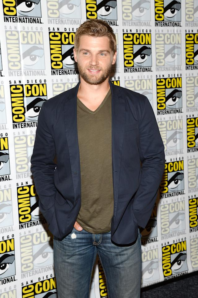"SAN DIEGO, CA - JULY 20: Actor Mike Vogel attends ""Under The Dome"" Press Line during Comic-Con International 2013 at Hilton Bayfront on July 20, 2013 in San Diego, California. (Photo by Ethan Miller/Getty Images)"