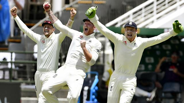 The Test series between South Africa and England is level at 1-1 after the tourists sealed victory with half an hour left at Newlands.