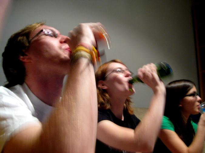 Who wouldn't want a drinking game named after them? (stock image - Dani Lurie/Wikimedia Commons)
