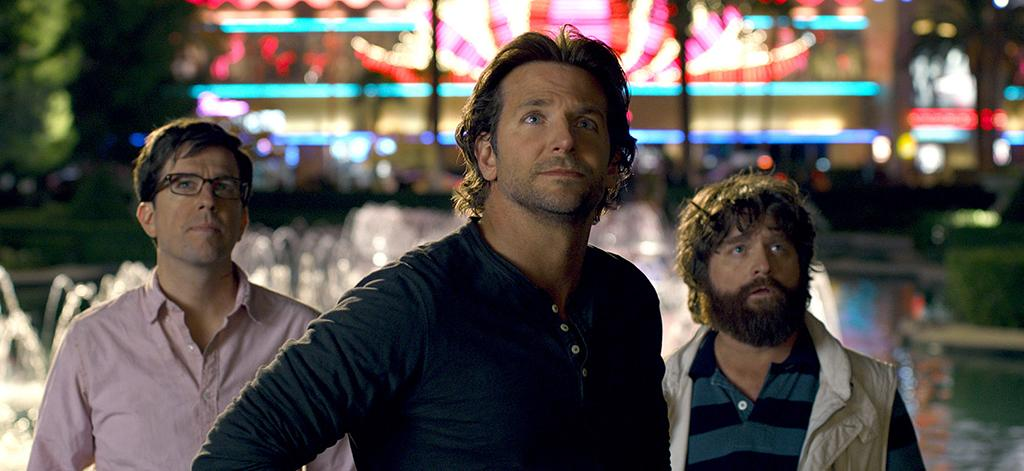 "Ed Helms, Bradley Cooper and Zach Galifianakis in Warner Bros.' ""The Hangover Part III"" - 2013"
