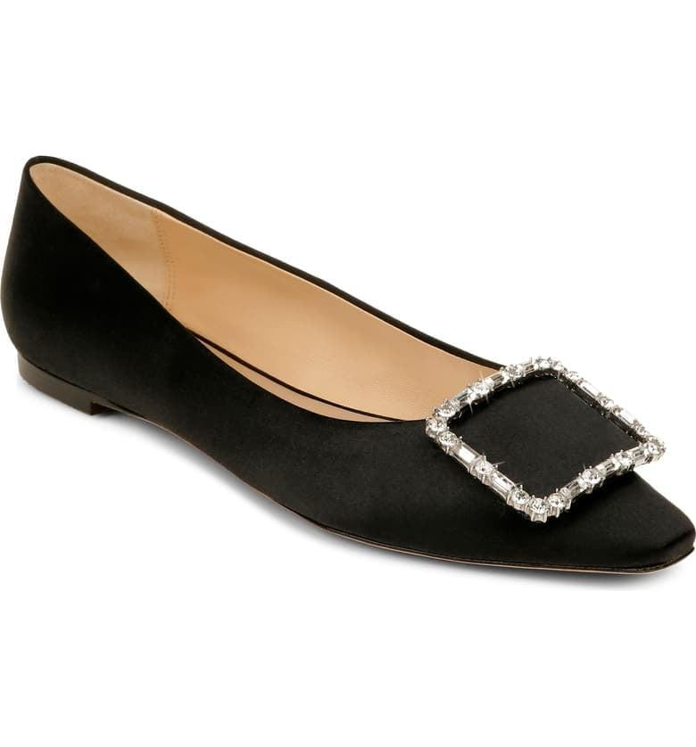 <p>If you're looking for a dressed-up pair that's also comfy, then get the <span>Badgley Mischka Dyanne Flats</span> ($198).</p>