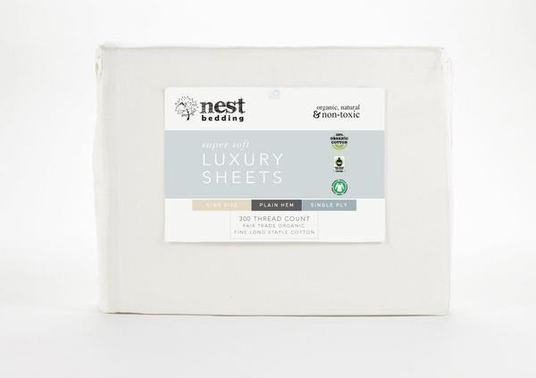 """<p><strong>Nest Bedding</strong></p><p>nestbedding.com</p><p><strong>$89.10</strong></p><p><a href=""""https://go.redirectingat.com?id=74968X1596630&url=https%3A%2F%2Fwww.nestbedding.com%2Fproducts%2Fnest-bedding-organic-cotton-luxury-sheet-sets-1&sref=https%3A%2F%2Fwww.prevention.com%2Fhealth%2Fg37374115%2Fhealthy-home-awards-2021%2F"""" rel=""""nofollow noopener"""" target=""""_blank"""" data-ylk=""""slk:Shop Now"""" class=""""link rapid-noclick-resp"""">Shop Now</a></p><p>If you're looking for a more traditional bedding fabric, cotton is a breathable option. This super soft set from Nest Bedding is made from cotton that's GOTS Certified Organic and Fair Trade certified, so they're great for the environment and your snooze-time comfort. Plus, there's elastic all around the bottom of the fitted sheet so it stays put.</p>"""