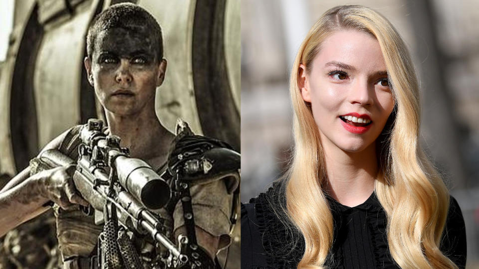 Anya Taylor-Joy will play Furiosa in the 'Mad Max' spin-off. (Credit: Warner Bros/Jacopo Raule/Getty Images)