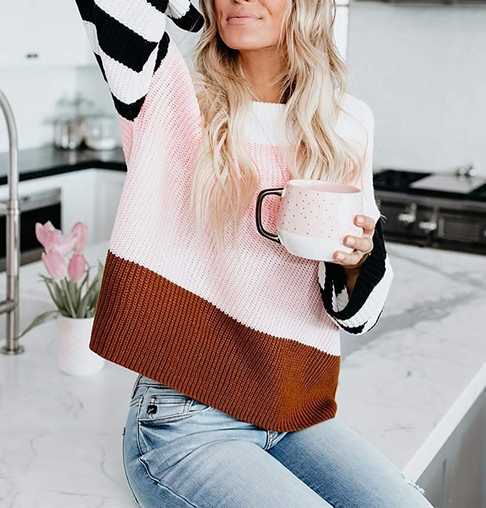 """<p>This <a href=""""https://www.popsugar.com/buy/Cordat-Casual-Colorblock-Oversize-Sweater-502695?p_name=Cordat%20Casual%20Colorblock%20Oversize%20Sweater&retailer=amazon.com&pid=502695&price=27&evar1=fab%3Aus&evar9=47134182&evar98=https%3A%2F%2Fwww.popsugar.com%2Ffashion%2Fphoto-gallery%2F47134182%2Fimage%2F47134194%2FCordat-Casual-Colorblock-Oversize-Sweater&list1=shopping%2Camazon%2Csweaters%2Cwinter%20fashion&prop13=mobile&pdata=1"""" class=""""link rapid-noclick-resp"""" rel=""""nofollow noopener"""" target=""""_blank"""" data-ylk=""""slk:Cordat Casual Colorblock Oversize Sweater"""">Cordat Casual Colorblock Oversize Sweater</a> ($27) has gone viral - customers are obsessed. </p>"""