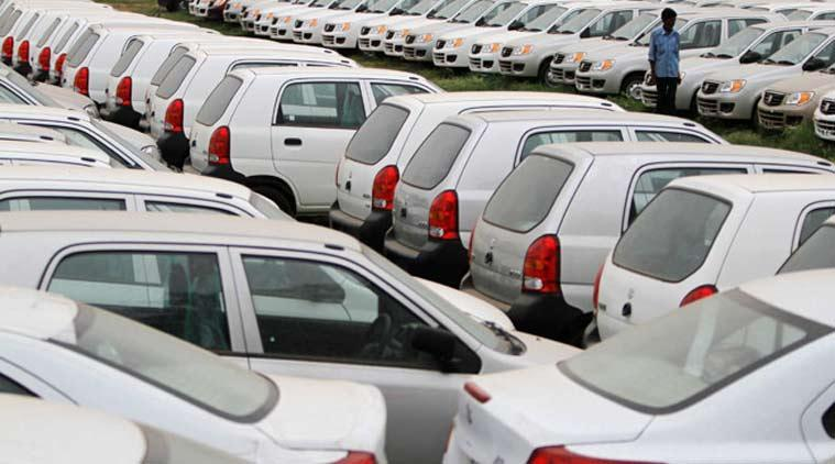 passenger car sales, drop in passenger car sale, car sale falls, passenger vehicle sale, automobile news, indian express