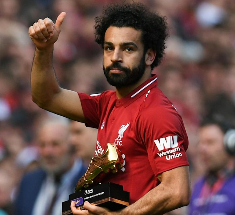Image result for MOHAMED SALAH, SADIO MANE AND PIERRE-EMERICK AUBAMEYANG ALL WIN GOLDEN BOOT