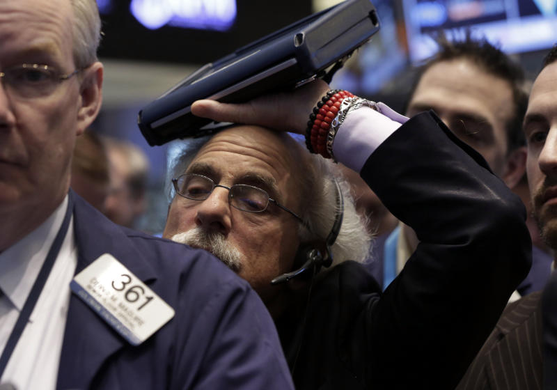 After tough January, stock extend slide