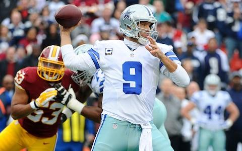 Romo passes against Washington in 2014 - Credit: usa today