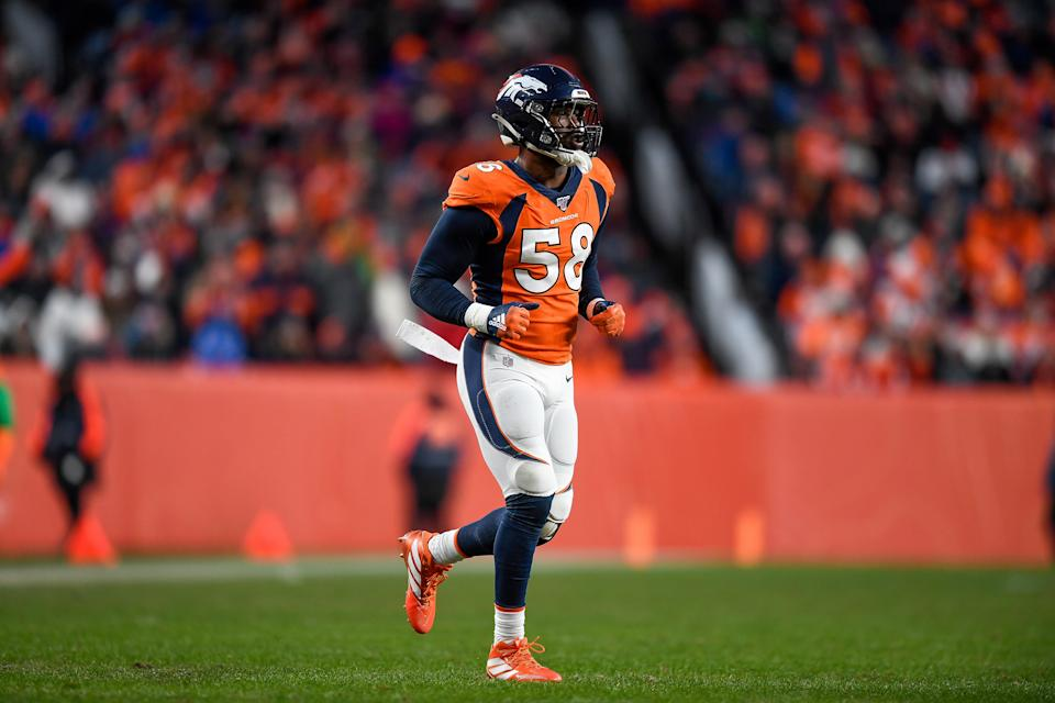Von Miller was the second player in the league to reveal that he had tested positive for the coronavirus less than two weeks ago.