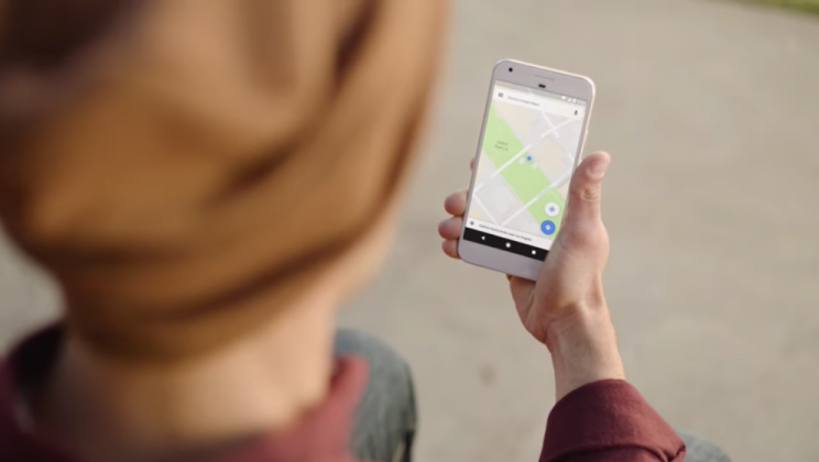 The new feature lets users share their location but it can be switched off for privacy (Google)