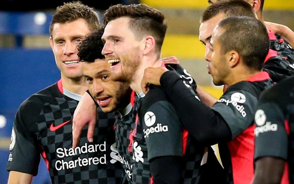 Liverpool's victory over Burnley means if they beat Crystal Palace on the final day, they are all but guaranteed a top four spot - Alex Livesey/POOL/EPA-EFE/Shutterstock/Shutterstock