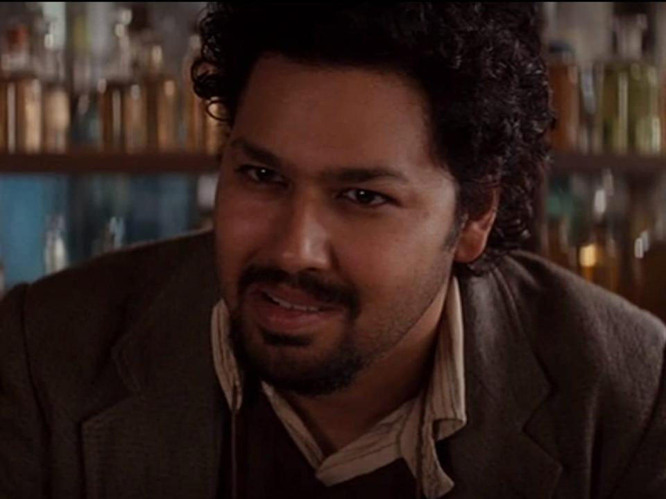 "Dileep Rao appeared in ""Inception."""