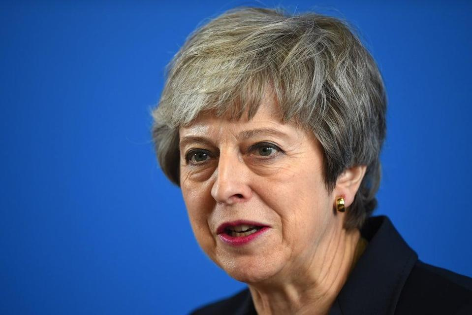 Former prime minister Theresa May (Andy Buchanan/PA) (PA Wire)