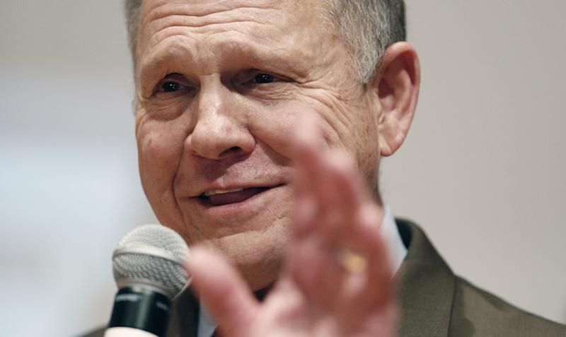 Trump backed Roy Moore in Alabama's Senate election, despite the numerous allegations of sexual misconduct.