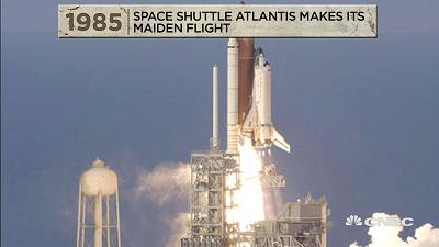 Among the events that happened on this day in history, in 1985 Space Shuttle Atlantis makes its maiden flight.