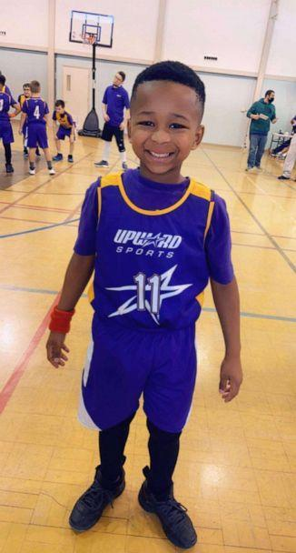 PHOTO: 8-year-old Jeremiah plays on a basketball team at his local church. (Charminique Love)