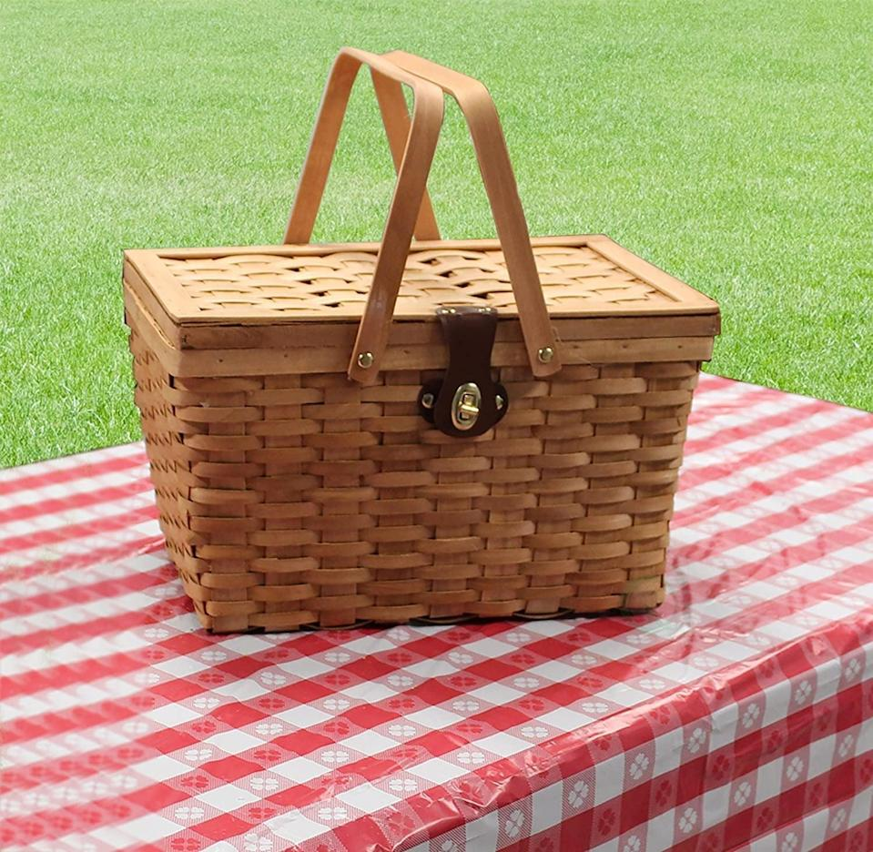 <p>This <span>Quickway Imports Picnic Basket</span> ($31, originally $36) is a failsafe choice you'll turn to over and over again.</p>